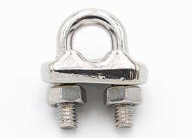 Serre-câble à étrier inox 6mm