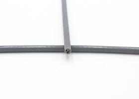 Câble 3/5mm gris