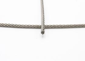 Câble acier inoxydable 7x7